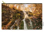 Waterfall - Roaring Brook Autumnlands Carry-all Pouch