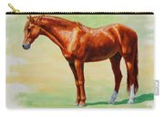 Roasting Chestnut - Morgan Horse Carry-all Pouch