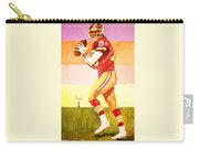 Quarterback In Motion Carry-all Pouch