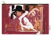 Robert Mitchum Hauls Angie Dickinson Collage Young Billy Young  Old Tucson Arizona 1968-2013  Carry-all Pouch