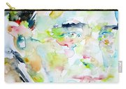Robert Musil - Watercolor Portrait Carry-all Pouch