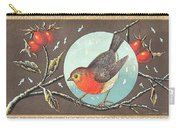 Robin Cigar Label Carry-all Pouch