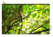Robin In The Glade Carry-all Pouch