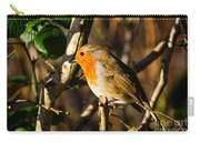 Robin In The Hedgerow Carry-all Pouch
