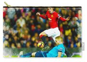 Robin Van Persie Of Manchester United Carry-all Pouch