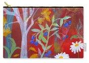 Robin's Blueberry Daisy Sunshiny Day Carry-all Pouch