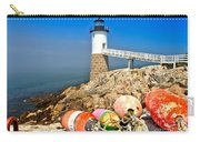 Robinson Point Lighthouse Carry-all Pouch by Adam Jewell