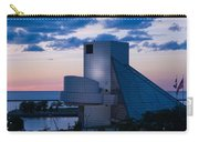 Rock And Roll Hall Of Fame Carry-all Pouch by Dale Kincaid