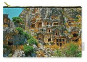 Rock-carved Tombs In Myra-turkey Carry-all Pouch