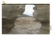 Rock Caves On The Beach Carry-all Pouch