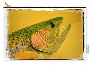 Rock Creek Rainbow Carry-all Pouch by Lauren Leigh Hunter Fine Art Photography