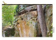 Rock Formation Wildcat Den State Park Carry-all Pouch