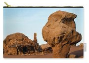 Rock Formations And Abandoned Building Carry-all Pouch
