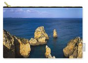 Rock Formations In The Sea, Algarve Carry-all Pouch