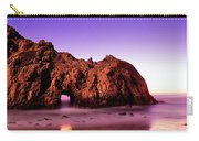 Rock Formations On The Beach, Pfeiffer Carry-all Pouch