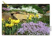 Rock Garden Flowers Carry-all Pouch