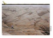 Rock Jogger At Peggy's Cove Carry-all Pouch
