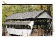 Rock Mill Covered Bridge Ohio Carry-all Pouch