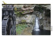 Rock Mill Water Fall In Ohio Carry-all Pouch