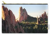 Rock Of Ages Carry-all Pouch by Eric Glaser