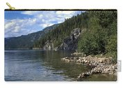 Rock Pools On Christina Lake Carry-all Pouch