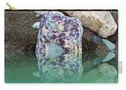 Rock Reflections - Water - Beach Carry-all Pouch