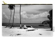 Rock The Boat  Black And White Carry-all Pouch