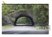 Rock Tunnel On Kelly Drive Carry-all Pouch by Bill Cannon
