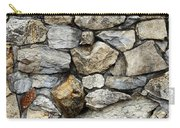 Rock Wall  Carry-all Pouch by Les Cunliffe