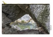 Rock Window Carry-all Pouch by David Morefield