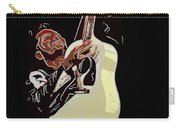 Rockabilly Electric Guitar Player  Carry-all Pouch by Tommytechno Sweden