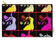 Rockabilly In Comic Style Carry-all Pouch