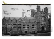 Rockefeller Hall - Bryn Mawr In Black And White Carry-all Pouch