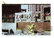 Prometheus Rockefeller Plaza 1950 Carry-all Pouch