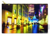 Rockefeller Center Christmas Trees - Holiday And Christmas Card Carry-all Pouch