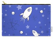 Rocket Science Dark Blue Carry-all Pouch