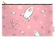 Rocket Science Pink Carry-all Pouch