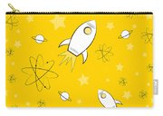 Rocket Science Yellow Carry-all Pouch
