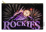 Rockies And Fireworks Carry-all Pouch