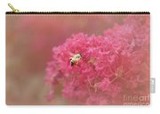 Rockin Pink Bee Carry-all Pouch