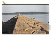 Rockland Breakwater Lighthouse Coast Of Maine Carry-all Pouch