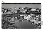Rockport Harbor - Bw Carry-all Pouch