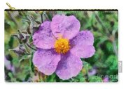 Rockrose Wild Flower Carry-all Pouch
