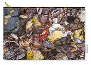 Rocks And Berries Carry-all Pouch