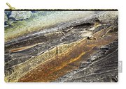Rocks And Clear Water Abstract Carry-all Pouch by Elena Elisseeva