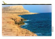 Rocks And Sea Carry-all Pouch