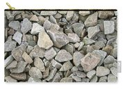 Rocks And Stones Texture Carry-all Pouch