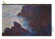 Rocks At Belle Ile Carry-all Pouch