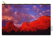 Rocks At Sunset Sedona Az Usa Carry-all Pouch