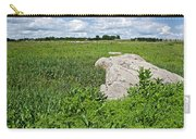 Rocks In A Tall Grass Prairie In Pipestone National Monument-minnesota Carry-all Pouch